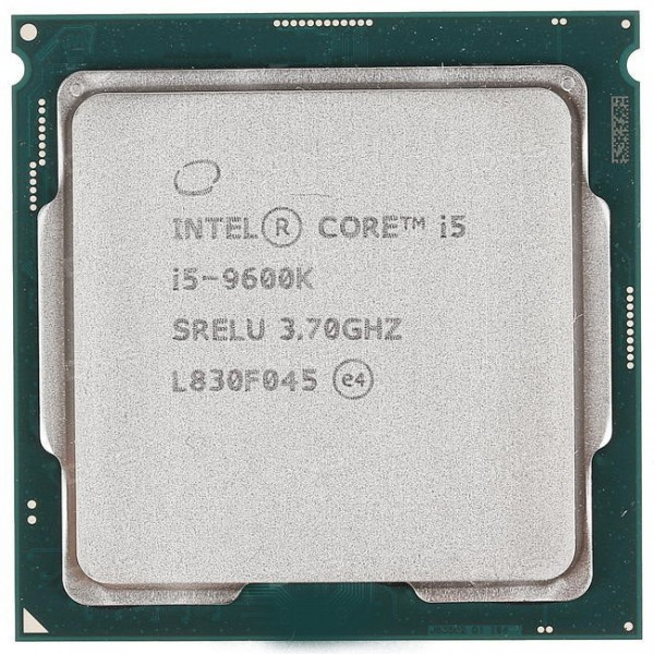 Процессор Intel Core i5 9600K Soc-1151v2 (3.7GHz/Intel UHD Graphics 630) OEM CM8068403874404S