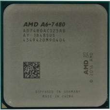 Процессор AMD CPU Desktop A6 2C/2T 7480 (3.8GHz,1MB,65W,FM2+) tray, Radeon R5 Series