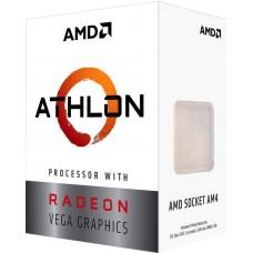 Процессор AMD Athlon 240GE AM4 BOX 35W 3500 YD240GC6FBBOX YD240GC6FBBOX