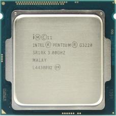 Процессор INTEL PENTIUM G3220 OEM [Socket 1150. 2-ядерный. 3000 МГц. Haswell. Кэш L2 - 0.5 Мб. Кэш L3 - 3 Мб. Intel HD Graphics. 22 нм. 54 Вт]