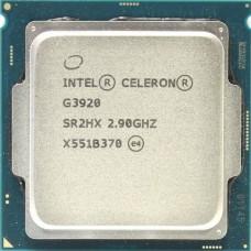 Процессор Intel Celeron G3920 Soc-1151 (CM8066201928609S R2HX) (2.9GHz/Intel HD Graphics 510) OEM CM8066201928609SR2HX