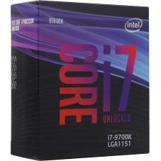 Процессор Intel CORE I7-9700K S1151 BOX 3.6G BX80684I79700K S RG15 IN BX80684I79700KSRG15