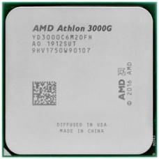 Процессор AMD Athlon 3000G AM4 35W 3,5Gh, Radeon Vega 3 Graphics,OEM