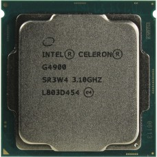 Процессор Intel Original Celeron G4900 Soc-1151v2 (CM8068403378112S R3W4) (3.1GHz/Intel HD Graphics 610) OEM