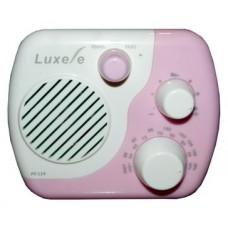 Радиоприемник портативный Сигнал Luxele РП-114 белый/розовый 17850
