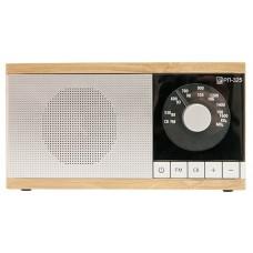 Радиоприемник портативный Сигнал БЗРП РП-325 коричневый/серебристый 19342