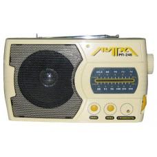 Переносной радиоприемник ЛИРА РП-246 РП-246