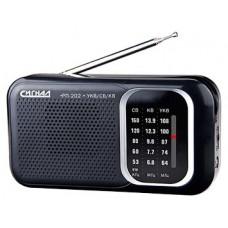 Радиоприемник Сигнал рп-202 черный 9304 9304