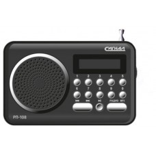 Радиоприемник Сигнал рп-108 черный РП-108 117832