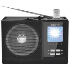 Радиоприемник портативный Сигнал эфир-10 черный 17821