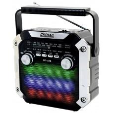 Радиоприемник портативный Сигнал РП-228 черный USB microSD 17831
