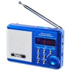 Портативная акустика Perfeo sound ranger 2 вт fm mp3 usb microsd bl-5c 1000mah золотистый sv922au SV922AU