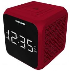 Часы с радиоприемником Telefunken TF-1571 белый оранжевый TF-1571(белыйсянтарным)