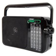 Радиоприемник портативный Сигнал РП-233 черный USB microSD 17843