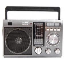 Радиоприемник портативный Сигнал РП-231 черный/серый USB SD 17841