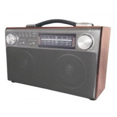 Радиоприемник портативный Сигнал БЗРП РП-324 коричневый USB microSD 19341