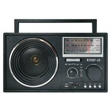 Радиоприемник портативный Сигнал Patriot Эфир-13 черный USB SD/microSD 17840