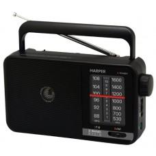 Радиоприемник Harper HDRS-711 черный H00001681