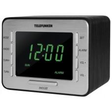 Радиоприемник настольный Telefunken TF-1508 черный/серебристый TF-1508(ЧЕРНЫЙCЗЕЛЕНЫМ)