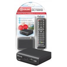 Ресивер DVB-T2 D-Color DC700HD DC700HD
