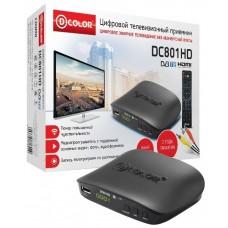 Приставка D-COLOR DC801HD DVB-T2 DC801HD