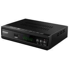 Ресивер DVB-T2 Telefunken TF-DVBT227 черный TF-DVBT227(ЧЕРНЫЙ)