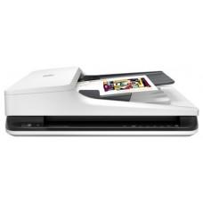 Сканер Hp scanjet pro 2500 f1 (cis. a4. 1200dpi. 24bit. usb 2.0. adf 50 sheets. duplex. 20 ppm/40 ipm) L2747A