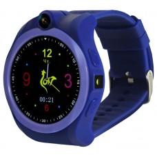 Умные часы детские Ginzzu gz-507 violet 1.54'' Touch/Геолокация по WI-FI/GPS/LBS/Гео-зоны/Кнопка SOS/nano-SIM GZ-507violet