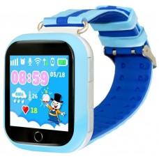 Умные часы детские Ginzzu gz-503 blue 1.54'' touch/геолокация по wi-fi/gps/lbs/гео-зоны/кнопка sos/nano-sim GZ-503blue