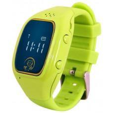 Умные часы детские Ginzzu GZ-511 blue. 0.66''. micro-SIM GZ-511blue