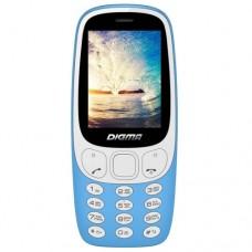 Мобильный телефон Digma N331 2G Linx 32Mb голубой моноблок 2Sim 2.44'' 128x160 0.08Mpix BT GSM900/1800 FM microSD max16Gb LT1042PM