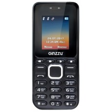 Мобильный телефон Ginzzu m102d mini 1.8 black/red (2 sim) GNZ-M102DM-BKR