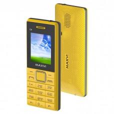Мобильный телефон Maxvi c9 ds yellow/black (2 sim)