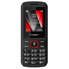 Мобильный телефон Texet tm-127 черный-красный 126496