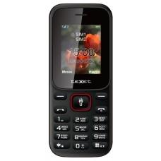Мобильный телефон Texet tm-128 черный-красный TM-128