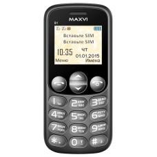 Мобильный телефон Maxvi b1 1.77 black ( gsm 900/1800 mhz) dual sim 0.3mpx microsd B1BLACK