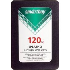 """Накопитель ssd Smartbuy splash 2 120gb 2.5 sb120gb-splh2-25sat3. sata 6gb/s. r460 - w280 mb/s"""""""