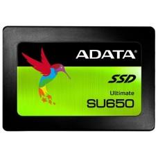 Накопитель SSD Adata 120GB SU650 TLC 2.5'' SATAIII 3D NAND. SLC cach / without 2.5 to 3.5 brackets ASU650SS-120GT-C