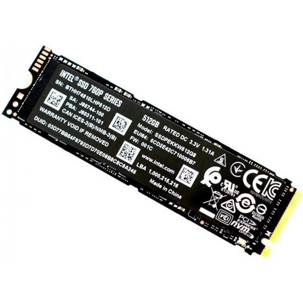 Накопитель SSD Intel SSDPEKKW512G8XT PCI-E x4 512Gb 760p Series M.2 2280 SSDPEKKW512G8XT