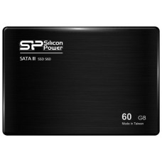 Твердотельный накопитель SSD Silicon Power 60 Gb 2.5'' SATA III S60 (R550/W500MB/s) (SP060GBSS3S60S25) SP060GBSS3S60S25