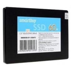 Накопитель SSD Smartbuy Jolt 60Gb SB060GB-JLT-25SAT3 SATA3.0. 7mm SB060GB-JLT-25SAT3