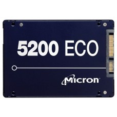 Накопитель SSD Micron 5200ECO 3.84TB SATA 2.5'' MTFDDAK3T8TDC-1AT1ZABYY