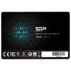 Твердотельный диск Silicon power A55. 64GB 2.5''. SATA III [R/W - 560/530 MB/S] TLC SP064GBSS3A55S25