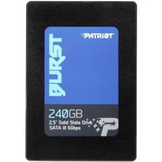 Накопитель ssd Patriot burst 240gb pbu240gs25ssdr (3d tlc) PBU240GS25SSDR