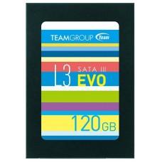 SSD жесткий диск SATA2.5'' 120GB L3 EVO T253LE120GTC101 TEAMGROUP