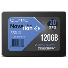 Накопитель SSD Qumo QM Novation Q3DT-120GPBN 120GB SATA3.0 Q3DT-120GPBN