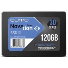 Накопители SSD Qumo QM Novation Q3DT-120GAEN 120GB {SATA3.0} Q3DT-120GAEN