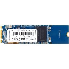 Твердотельный накопитель M.2 2280 120GB AMD Radeon R5 Client SSD R5M120G8 SATA 6Gb/s, 530/400, IOPS 64/81K, 3D TLC, RTL