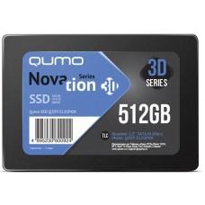 Qumo Novation TLC 3D SSD 512Gb Q3DT-512GPGN Q3DT-512GPGN