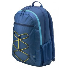Рюкзак HP Active Backpack Navy Blue/Yellowcons (for all hpcpq 10-15.6'' Notebooks) cons 1LU24AA